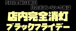 ブラックフライデー【手隠しスタイル】
