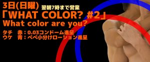 「WHAT COLOR? #2」